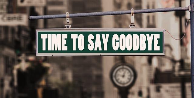 time to say goodbye. rescisão indireta.