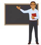 dicionário jurídico - professor dando aula com um dicionário na mão.