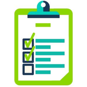 consulta advogado - foto de um checklist