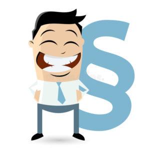 consulta advogado - foto de um homem rindo com um dinheiro atrás