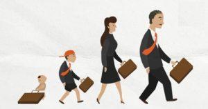 Casos de família - foto bebê, criança, mulher e homem