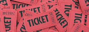 Taxa de Conveniência - Foto de ingressos